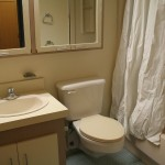 New Residence Hall Bathroom