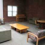 New Residence Hall Lounge