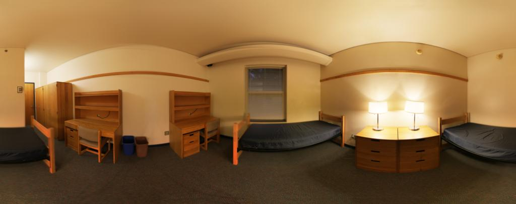 New Residence Hall Panorama
