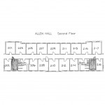 Allen Hall Floorplan