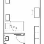 New Residence Hall Room Floorplan