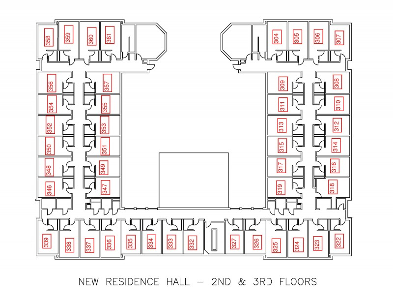 New Residence Hall Residential Education And Housing