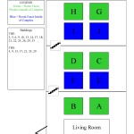 Townhouses Building Floorplan (A)