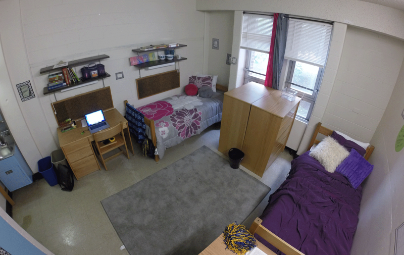College Dorm Rooms Freshman Year